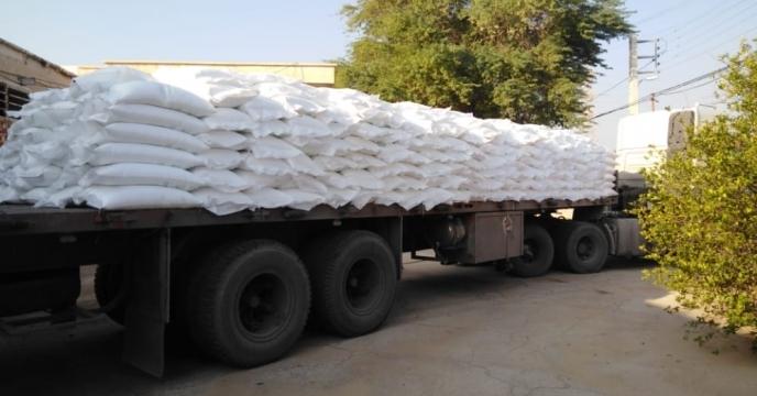 توزیع کود شیمیایی در شهرستان گرمسار