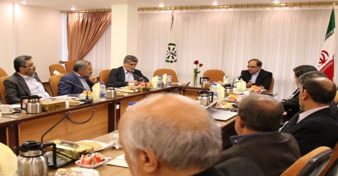 ششمین جلسه شورای هماهنگی مدیران حوزه بازرگانی و صنایع کشاورزی