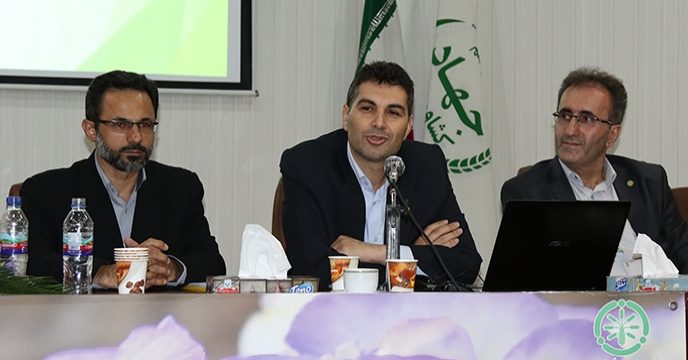 جناب آقاي مهندس عليزاده، عضو محترم هيئت مديره و معاون بازرگاني