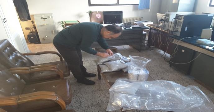 ارسال کودهای نمونه برداری شده به آزمایشگاه مرکز تحقیقات کاربردی نهاده ها