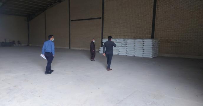 بازدید مدیر شرکت خدمات حمایتی کشاورزی استان بوشهر از انبار کارگزاری تعاونی روستایی رودحله