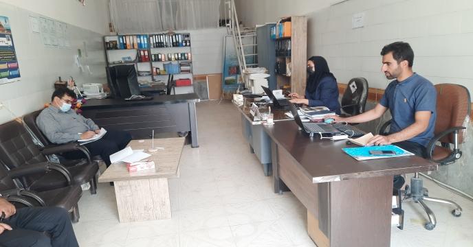 بازدید معاونت  شرکت خدمات حمایتی کشاورزی استان یزد از کارگزاری شمیم گستر پشتکوه