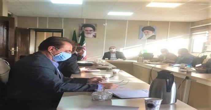 جلسه هماهنگی برنامه های ابلاغی در سازماتن جهاد کشاورزی استان آذربایجان غربی