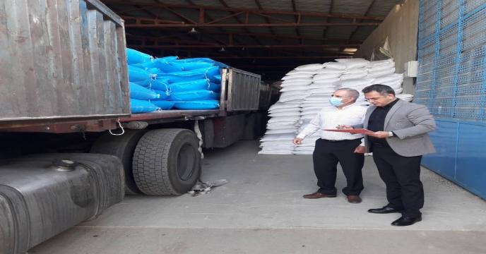 پایش کودهای شیمیایی یارانه دار در  شهرستان  سلماس