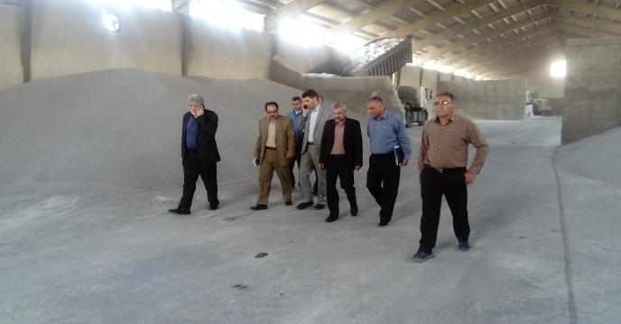 بازدید آقایان مهندس علیزاده و مهندس هرمزی از شعبه فارس