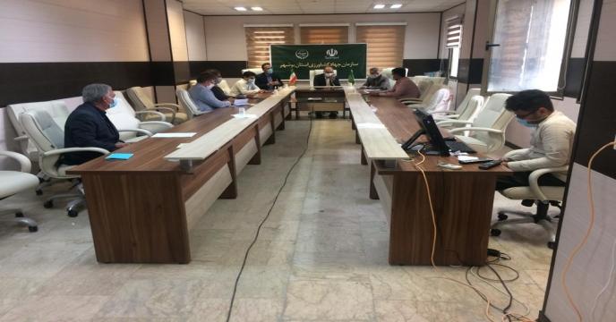 برگزاری جلسه برنامه ریزی جهت کشت دانه های روغنی ( کلزا ) از طریق ویدئو کنفرانس