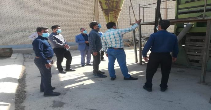 بازدید و راه اندازی دستگاه بوجاری انبار بذر