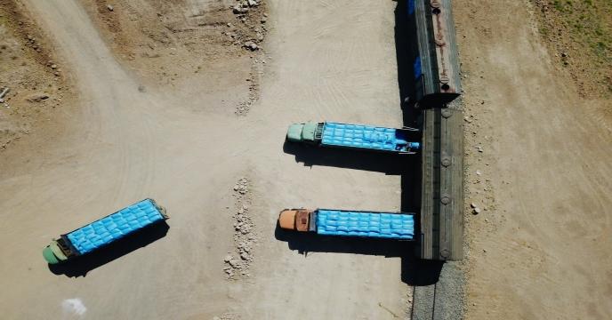ادامه عملیات حمل ریلی از مبدأ پتروشیمی شیراز به مقصد استان آذربایجان شرقی
