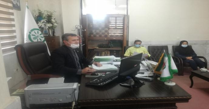 جلسه توجیهی امور مالی شرکت خدمات حمایتی کشاورزی جنوب کرمان ( ج