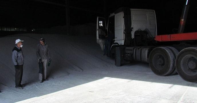 کود سوپرفسفات تریپل فله شرکت خدمات حمایتی کشاورزی استان همدان