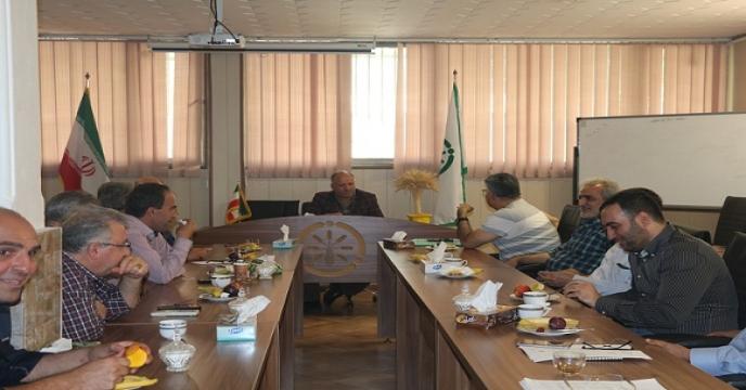 نشست صمیمی کارکنان شرکت خدمات حمایتی کشاورزی استان تهران