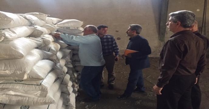 بازدید از وضعیت انبار کارگزاران شهرستان شهریار