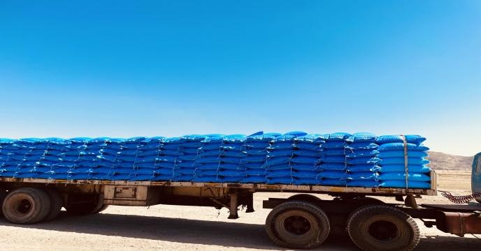 تأمین و ارسال کود شیمیایی اوره  به مقصد انبار کارگزاران استان قزوین