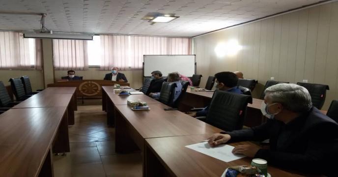 « برگزاری جلسه  شورای اداری مدیریت »