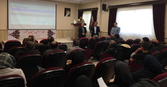 برگزاری جلسه آموزشی سامانه جامع انبارها و سامانه توزیع نهاده ها در استان خراسان شمالی