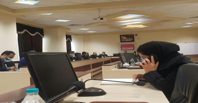 جلسه در رابطه با توزیع نها دهای کشاورزی - استانداری استان مرکزی - سوم اسفند ماه 1399