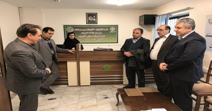 بازدید از باشگاه کشاورزان استان آذربایجان غربی