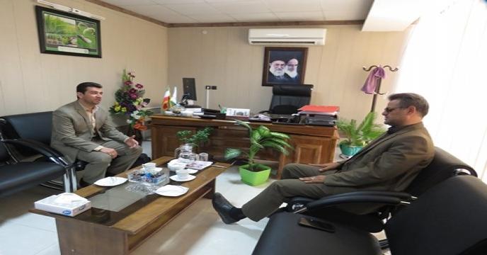 بازدید کارشناس بیمه ستاد مرکزی از انبارهای سازمانی خراسان شمالی