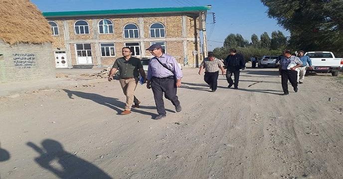 حضور گرود برودکر نماینده سازمان خواربار و کشاورزی ملل متحد (فائو)  در آذربایجان غربی