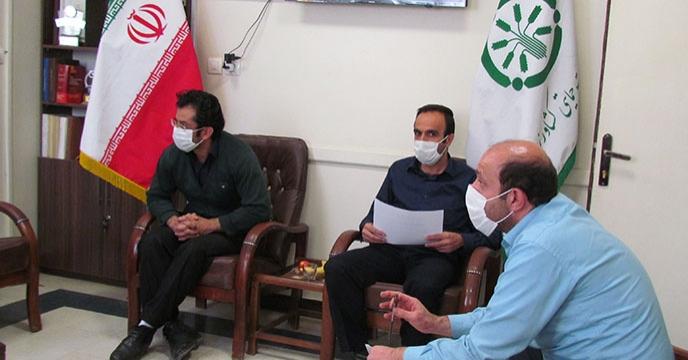 جلسه هماهنگی تأمین و توزیع انواع کود شیمیایی برای کشت پائیزه استان همدان