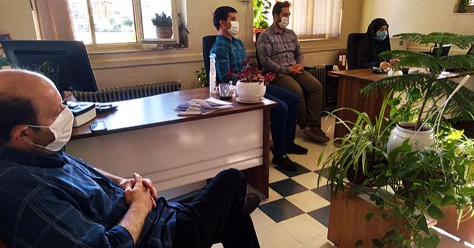 جلسه آموزشی فروش و بازاریابی شرکت خدمات حمایتی کشاورزی استان همدان