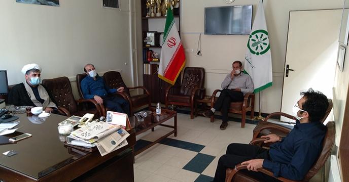 بازدید مسئول عقیدتی سازمان جهاد کشاورزی از شرکت خدمات حمایتی کشاورزی استان همدان