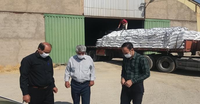 ارسال و توزیع کود شیمیایی اوره به شرکت تعاونی هندودر شازند
