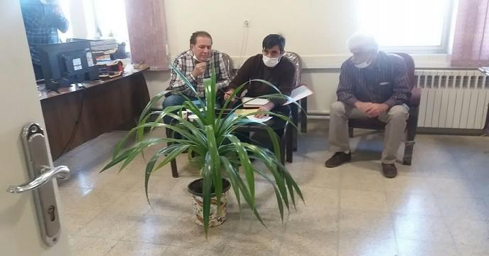 حضور همکاران محترم مدیریت حسابرسی و بازرسی ستاد در استان مرکزی