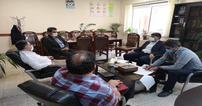 جلسه تامین کود در سازمان جهاد کشاورزی شهرستان ها