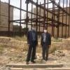 بازدید جناب اقای حسن زاده به همراه مدیر شعبه استان از املاک شعبه استان