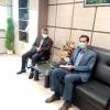 دیدار کاری مدیر شعبه استان با شهردار شهر یاسوج