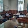جلسه با معاونین زراعت، باغبانی و تولیدات گیاهی سازمان جهاد کشاورزی استان یزد
