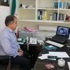 شرکت مدیر شعبه ایلام در ویدئو کنفرانس