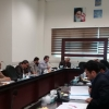 جلسه ی کارگروه کنترل کیفی موادکودی درمحل سازمان جهادکشاورزی