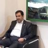 بازدید آقای مهندس علیزاده از غرفه مجتمع شیمیائی آبیک در نمایشگاه بوستان گفتگو تهران