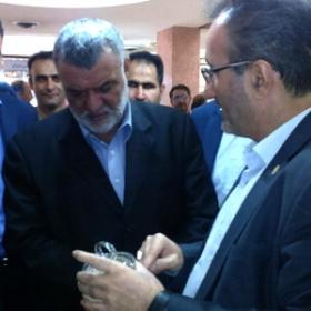 حضور وزیر جهاد کشاورزی در دومین جشنواره ارقام زراعی و باغی در استان البرز